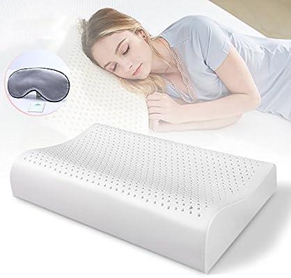 Amazon.com: woolala contorno almohada de espuma de memoria ...