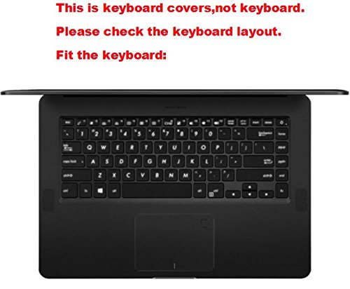 """Laptop High Clear Transparent Tpu Keyboard Protector Cover guard for ASUS Zenbook Pro UX550VD UX550VE 15.6"""""""