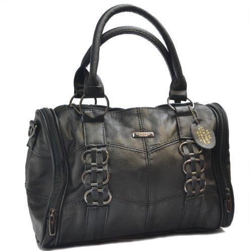 Lorenz , Damen Tote-Tasche Schwarz - Schwarz