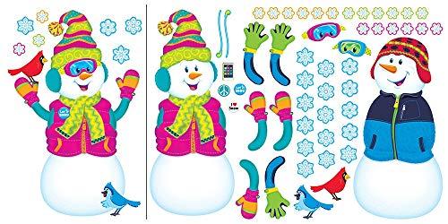 TREND enterprises, Inc. T-8291 Playful Snow Pals Bulletin Board Set -