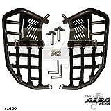 Yamaha YFZ 450 (2004-2009) (2012-2013) Propeg Nerf Bars Black Bars w/ Black Net