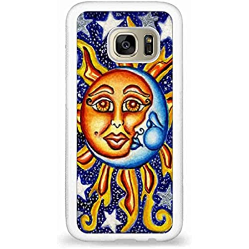 Customized Sun,Moon and Star back phone cases for Samsung Galaxy S7 Sales
