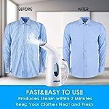 URPOWER Garment Steamer 130ml Portable 7 in 1