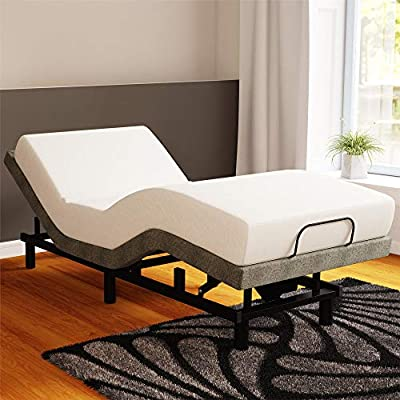 Signature Sleep Power Adjustable Bed Base/Foundation Remote Control, Assembles in Minutes