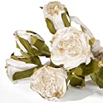 8-Bundles-Artificial-Flowers-Vintage-Rose-Bouquet-In-Bundles-of-5-Artificial-Plant-Arrangement-Lifelike-Natural-Fake-Plant-to-Brighten-Up-Your-Home-Decor-11-Tall-Including-Stem-Perfect-For-Wedding