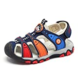 CYBLING Boys' and Girls' Summer Outdoor Beach Sports Closed-Toe Water Sandals (Toddler/Little Kid)