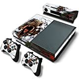 Xbox One Console Skin Decal Sticker T-Rex Dinosaur + 2 Controller & Kinect Skins Set