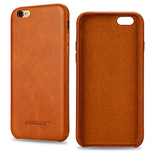 Jisoncase Genuine Leather Protective JS I6U 01A20 product image