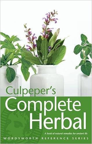Culpeper's Complete Herbal (Wordsworth Reference)