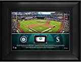 "Seattle Mariners Framed 5"" x 7"" Stadium Collage with a Piece of Game-Used Baseball - MLB Team Plaques and Collages"