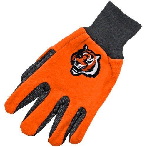 NFL Cincinnati Bengals Two-Tone Gloves