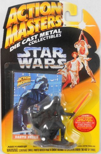 STAR WARS DARTH VADER DIE CAST MINI Collectible Figure - Mini Game Wars Star Figures