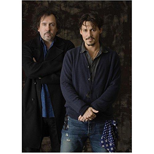 Alice in Wonderland Tim Burton and Johnny Depp 8 x 10 Inch Photo ()