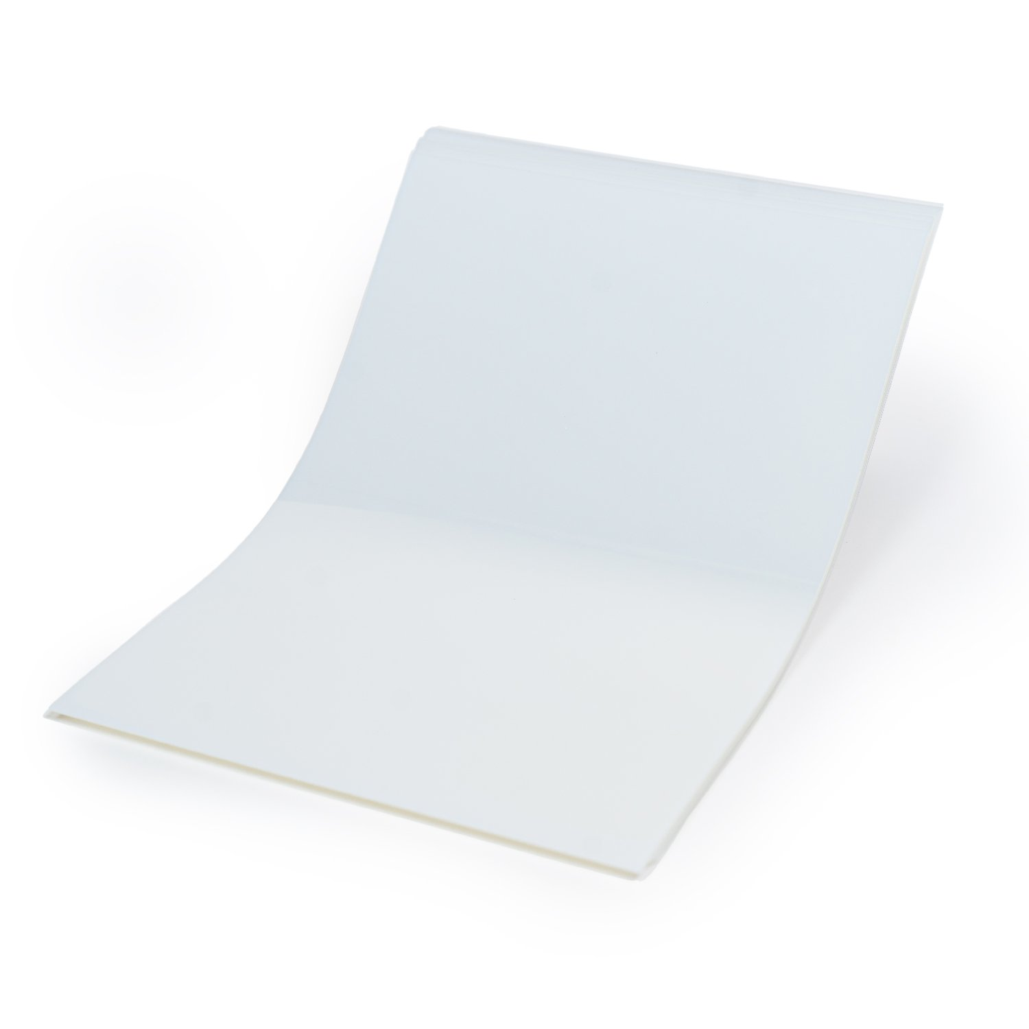 CISinks 100 Sheets 100micron Universal WaterProof Quick Drying Inkjet Transparency Film for Printing Silk Screen Positives 13'' x 19''