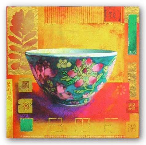 (8x8) Linda Maron Hong Kong Blossom Art Print - Linda Hong Kong