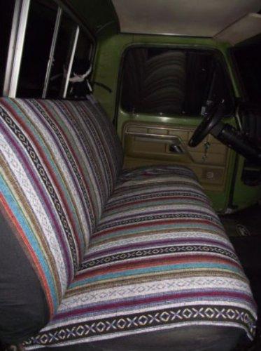 Unique Imports Baja Inca Saddle Blanket Premium Seat Cover