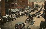Market Day, Monroe and Huron Street Toledo, Ohio Original Vintage Postcard
