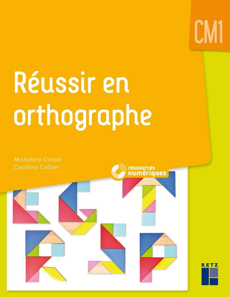 Réussir En Orthographe Cm1 1cédérom Amazon Co Uk