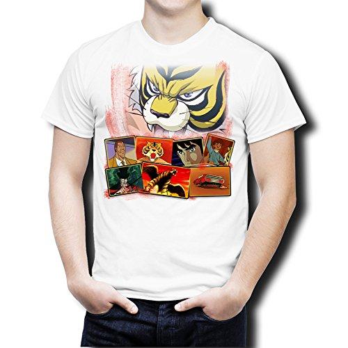 Tiger Tigre Maglietta Novesei Mask Tshirt Uomo qBSS71