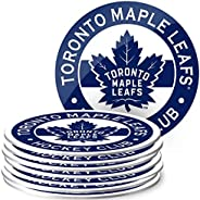 Mustang Products Toronto Maple Leafs 8 Pack Team Logo Coaster Set