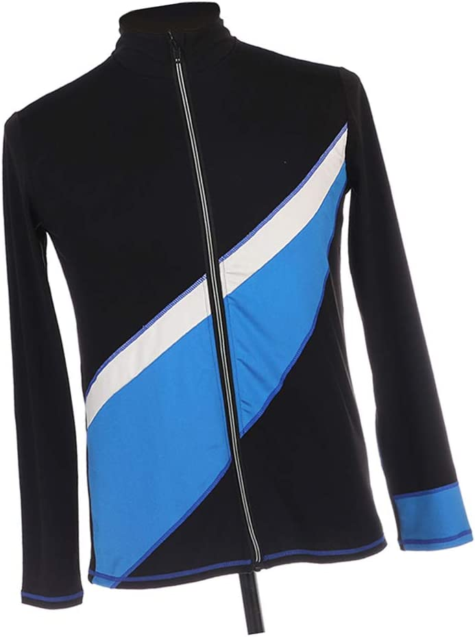 for Adults Kids Boys /& Girls High Elasticity /& Breathable Ice Skating Jacket Ice Skating Outfit