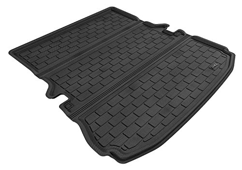 3D MAXpider Cargo Custom Fit All-Weather Floor Mat for Select Ford Explorer Models - Kagu Rubber - Custom Mat Cargo