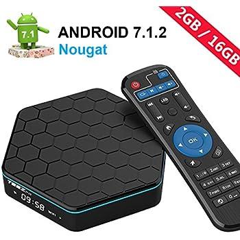 EASYTONET95Z PLUSAndroid TV Box Android 7.1 HD Player Amlogic S912 Media Box Octa Core 2GB DDR3 16GB Emmc 5Ghz Wifi 1000M LAN Ethernet 64-Bit H.265 Bluetooth 4.0 DLNA UHD 4K Mini PC TV Boxes