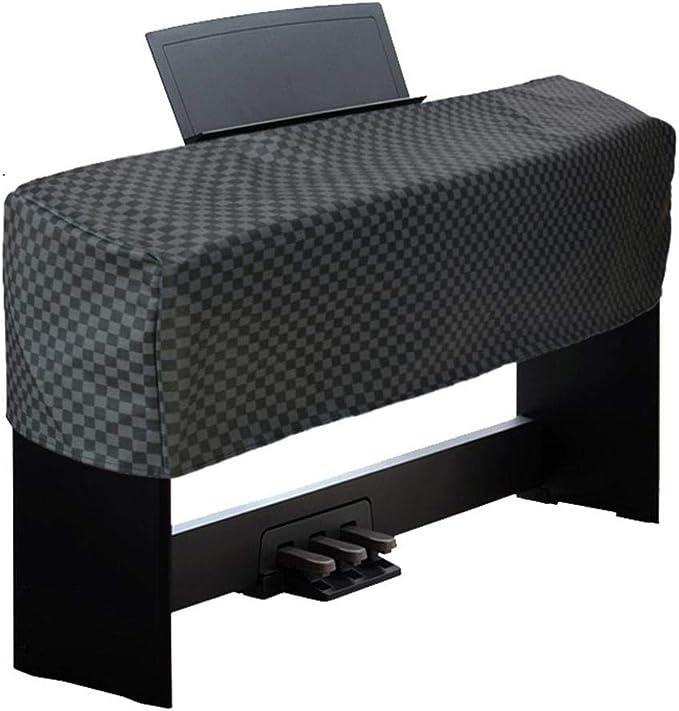 BGY Pianoforte Cover in velluto Pianoforte 88 Tasti Elettronico Copertura antipolvere per Pianoforte Universale Verticale Pianoforte