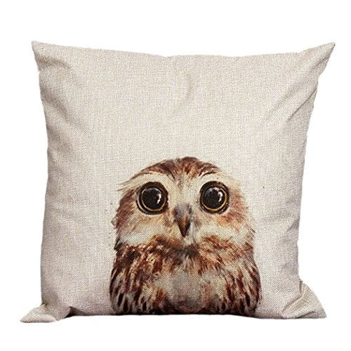 Euone-Vintage-Owl-Cotton-Linen-Pillow-Case-Sofa-Waist-Throw-Cushion-Cover-Home-Decor