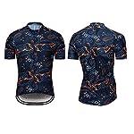 RUIKODOM-Abbigliamento-Ciclismo-Set-Nuova-Collezione-Estivo-Abbigliamento-Sportivo-per-Bicicletta-Maglia-Manica-Corta-Pantaloni-Salopette