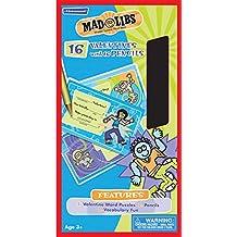 Paper Magic Valentines Madlibs with Bonus Pencils (16 Count)