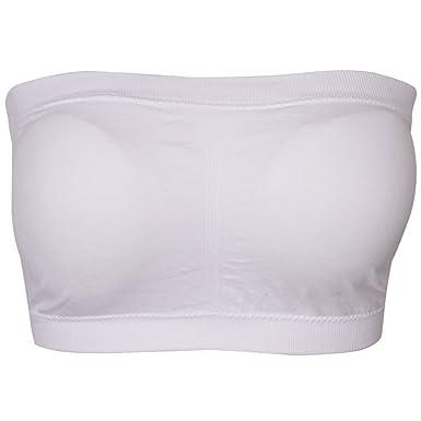 15bca070e704f Plusfeel Padded Tube Bra for Women