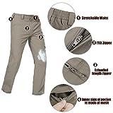 FREE SOLDIER Men's Outdoor Convertible Pants