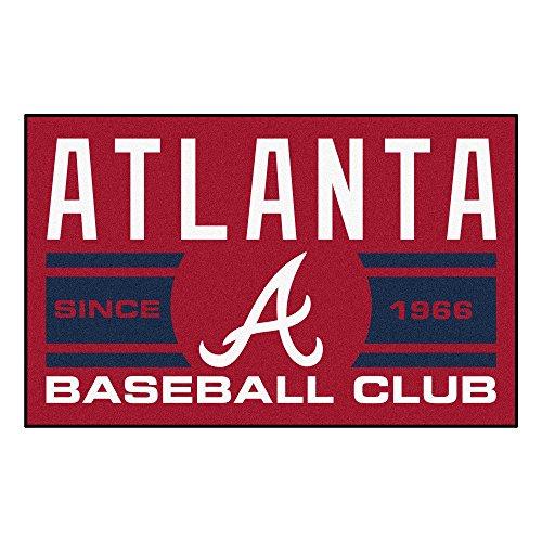 - MLB Atlanta Braves Starter Mat Rectangular Area Rug