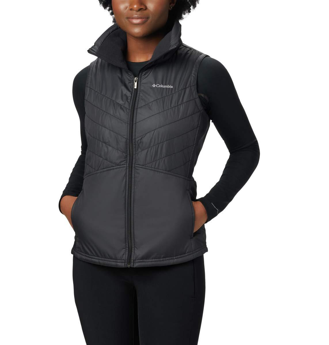 Columbia Women's Plus Size Mix It Around II Vest, Black, 2X by Columbia