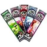 Blunt Wrap Double Platinum 5x 2Pack Mix - Apple Martini,Berries,Bubblegum, Blueberry Burst And Purple - Total 10 Blunt's In The Best Flavours! by Blunt Wrap