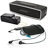 Bose QuietComfort 20 In-ear Noise Cancelling Headphones for Samsung and Android Devices, Black w/ SoundLink Mini II Carbon & Travel Bag - Bundle