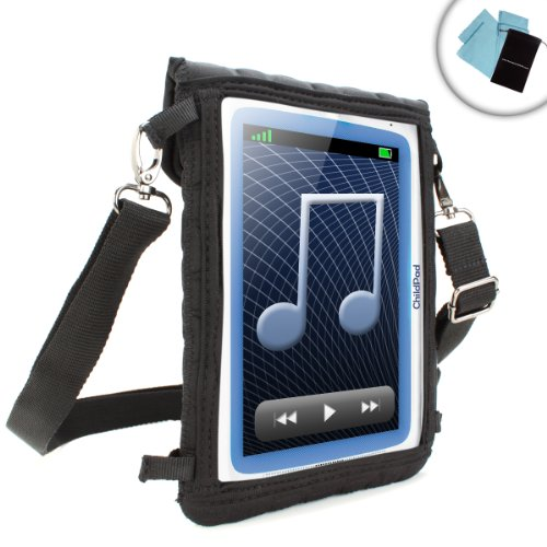 Kids Tablet Case 7 Inch w/ Touch Screen Protector , Adjustable Carrying Strap & Neoprene Material by USA