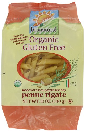 bionaturae Organic Penne Rigate, Gluten Free, 12-Ounce Bags (Pack of 6) (Gluten Free Pasta From Italy compare prices)