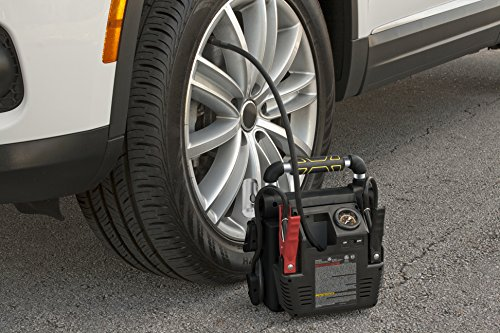 STANLEY J5C09 Power Station Jump Starter: 1000 Peak/500 Instant Amps, 120 PSI Air Compressor, Battery Clamps by STANLEY (Image #2)
