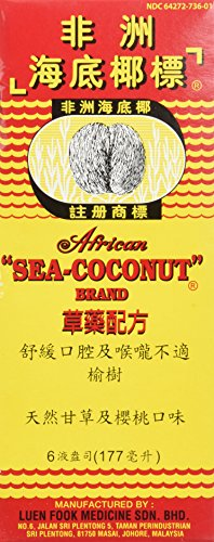 African Sea-Coconut Brand Original Herbal Mixture 6 Oz - 177 ml ()