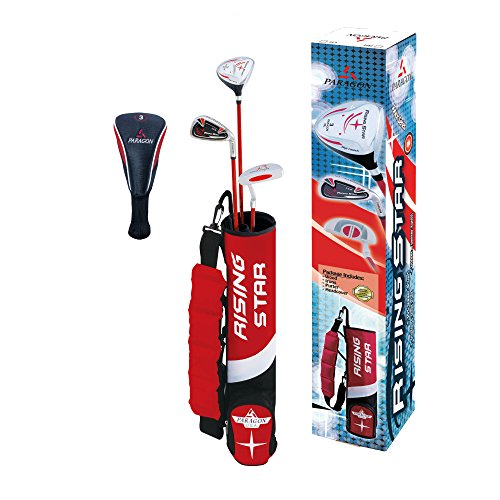Golf Putter Set (Paragon Golf Youth Golf Club Set, Red, Ages 3-5 - Right Handed)