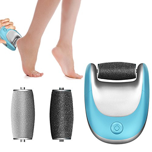 UPC 717850969516, Best Electric Foot File SUPRENT by Rechargeable Electric Pedicure and Foot Skin Grinder, Foot Callus Remover with Two Revolving Speeds, Automatic Pedicure Machine for Callus Removing, Pedicure Tools