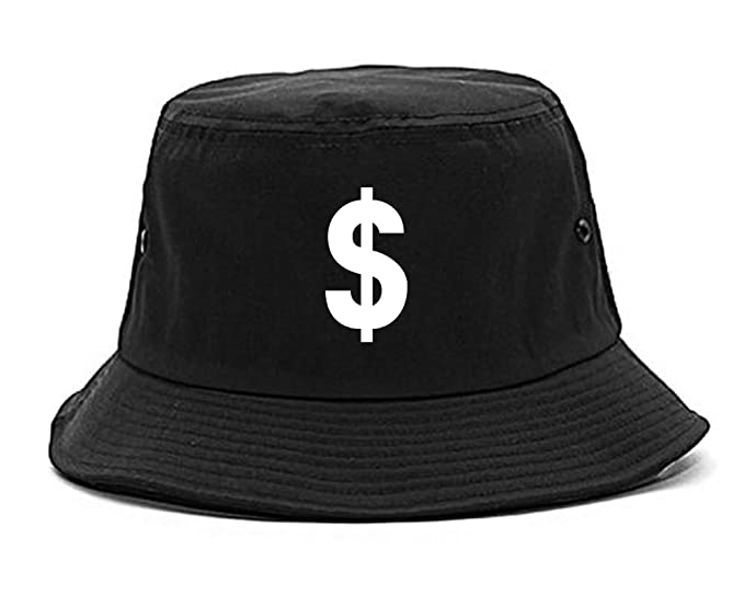 660876cb2de Dollar Sign Simple Chest Bucket Hat Black. Roll over image to zoom in. Kings  Of NY