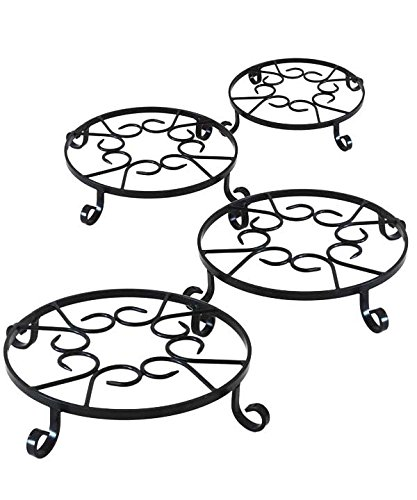 Panacea Olde World Forged Pot Trivets, 12