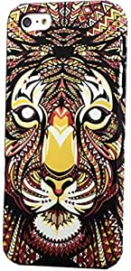 IPHONE 5S BACK PHONE CASE OF THE FOREST KING - TIGER