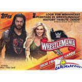 2020 Topps WWE Road to Wrestlemania EXCLUSIVE Factory Sealed Retail Box with RELIC Card! Look for Cards & Autos of WWE…