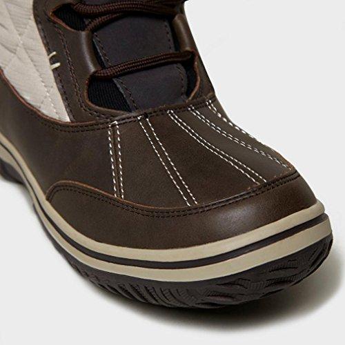 Alpine Brown Bundall Women's Boots UK4 Snow 8r8Yq
