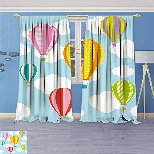 hot air balloon window curtains - 8
