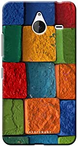 Fashionury Printed Back Case Cover For Microsoft Lumia 640XL-Print8075